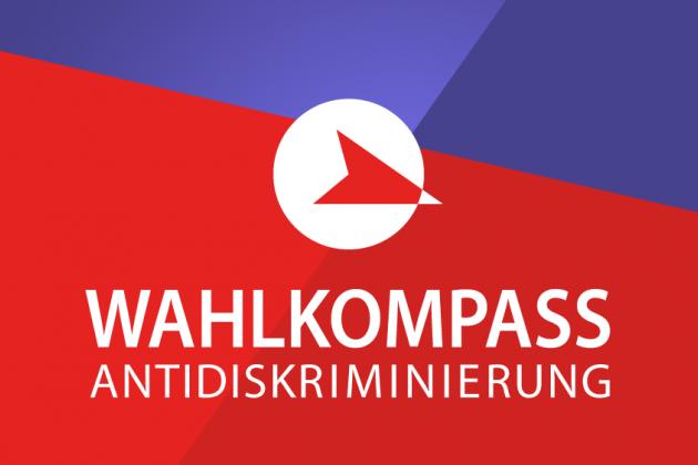 Logo Wahlkompass Antidiskriminierung
