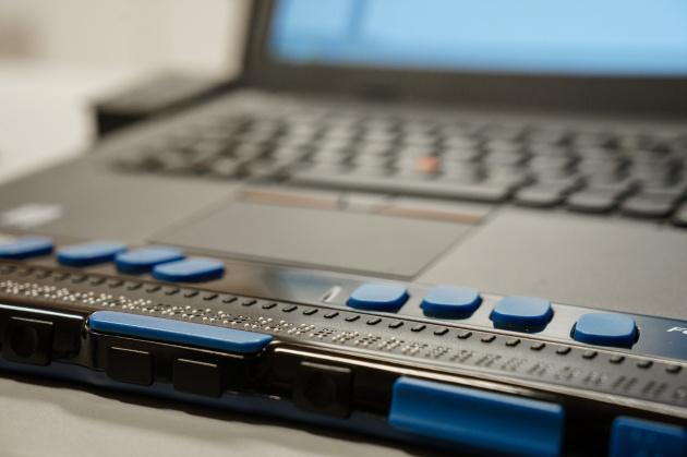 Barrierefreier Internetzugang für Menschen mit Sehbehinderung