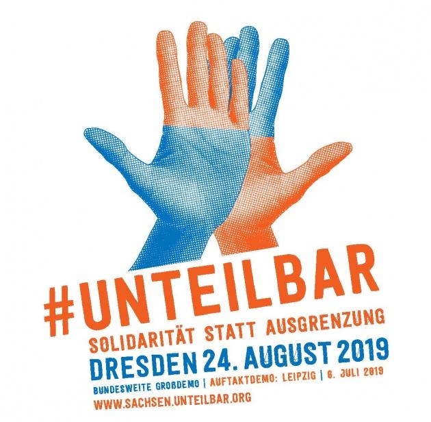 #unteilbar-Demosticker