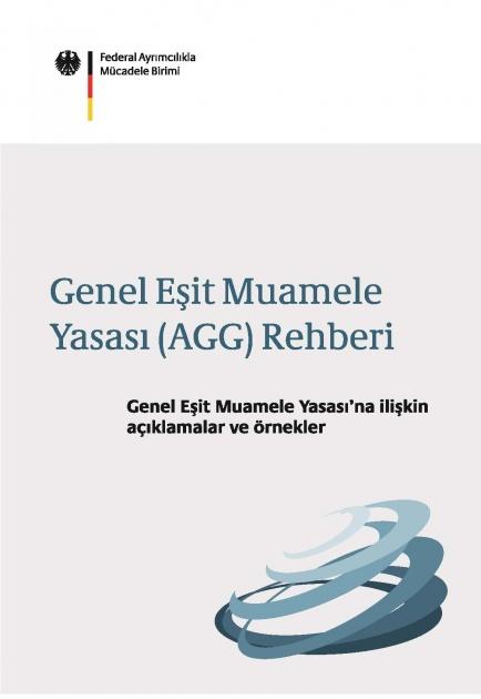 Cover ADS-Wegweiser zum AGG auf Türkisch