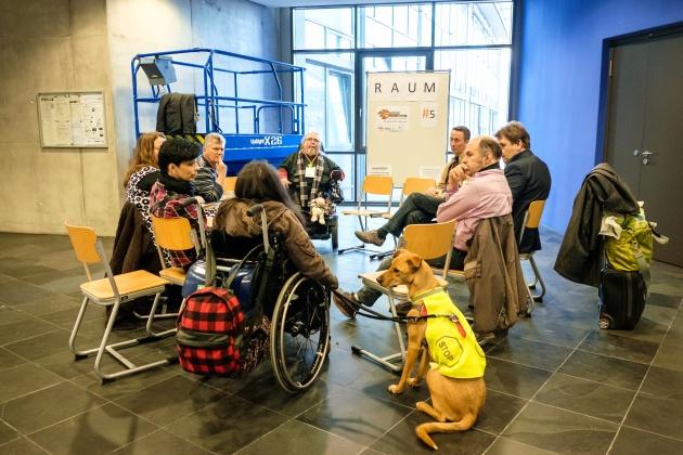 Ein Workshop beim Open Transfer Camp München, fotografiert von Andi Weiland