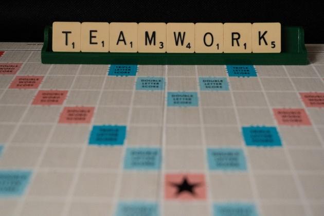 Scrabble-Feld